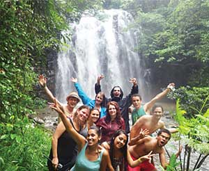 Waterfall adventure tours from Cairns
