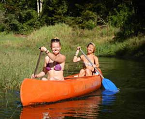Canoe tours from Cairns