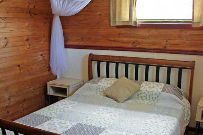 On the Wallaby double rooms - Yungaburra accommodation