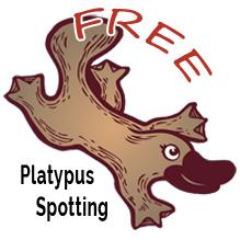 Free Platypus Spotting