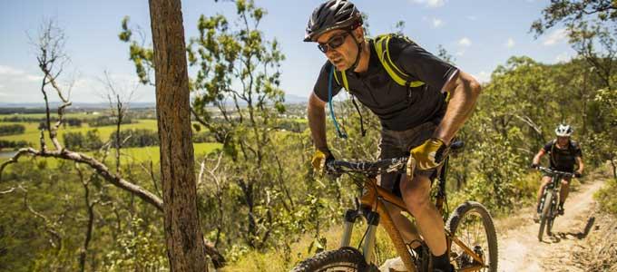 Atherton Forest Mountain Bike Park ride
