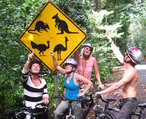 Mountain biking the Atherton Tablelands